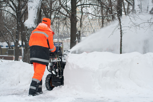 PPM Tree Service & Arbor Care's commercial snow removal services include precise activities like snow throwing, if your office or business requires it.