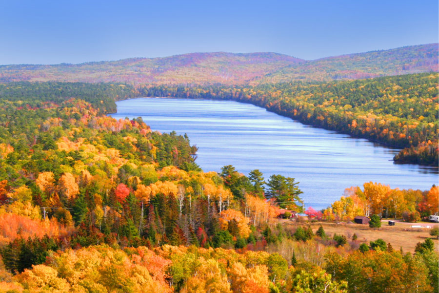 Michigan's fall colors is one of the greatest shows on earth.