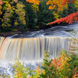 Tahquamenon Falls State Park is a great place to see Michigan's fall colors this year.